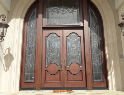 Beautiful Custom Entry Door System Installed in Coto de Caza