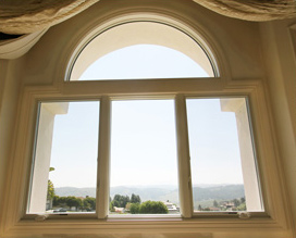 Curved top - arch windows