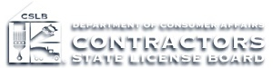 CA Contractors State License Board