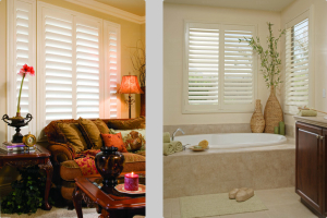 plantation shutters for living rooms bathrooms family rooms